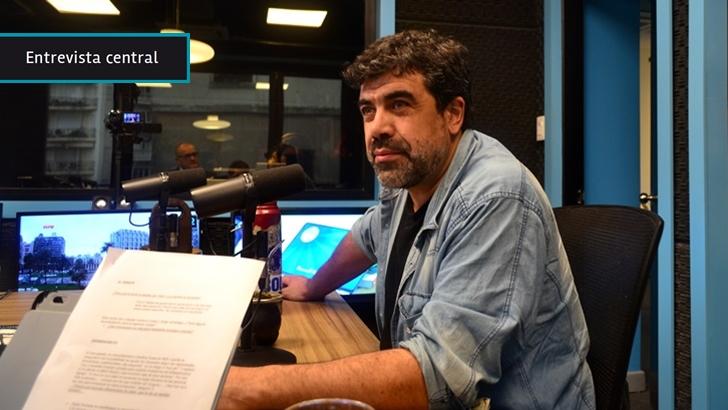 Óscar Andrade: «Las elecciones internas del FA están abiertas», «casi firmaría hoy» que el resultado «va a ser mucho más apretado de lo que dicen las encuestas»