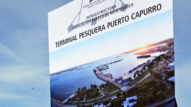 Los ojos de Rosario: Comenzó la construcción del nuevo Puerto Capurro