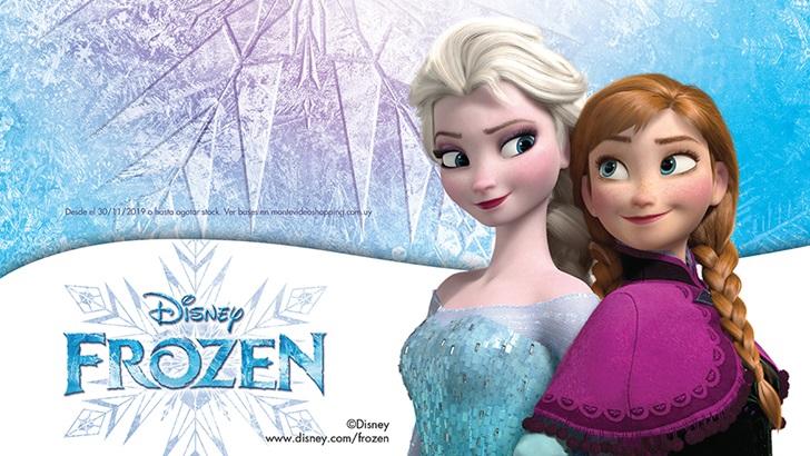 Montevideo Shopping se une al lanzamiento mundial de Frozen 2
