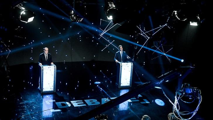 Así será el próximo debate entre Daniel Martínez y Luis Lacalle Pou