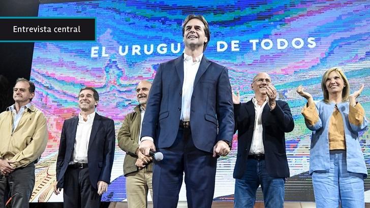 Álvaro Delgado: «Todo el Uruguay sabe que hay un presidente electo»