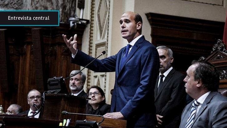 Martín Lema (PN), nuevo presidente de Diputados, impulsa medidas para mejorar control al Ejecutivo, más participación ciudadana y derogación de leyes que no se aplican
