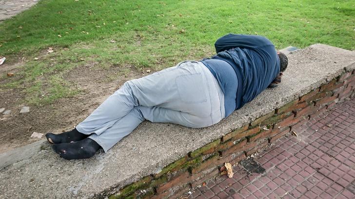 Aislamiento y distancia social: Personas en situación de calle reclaman medidas para no convertirse en «bombas de tiempo»