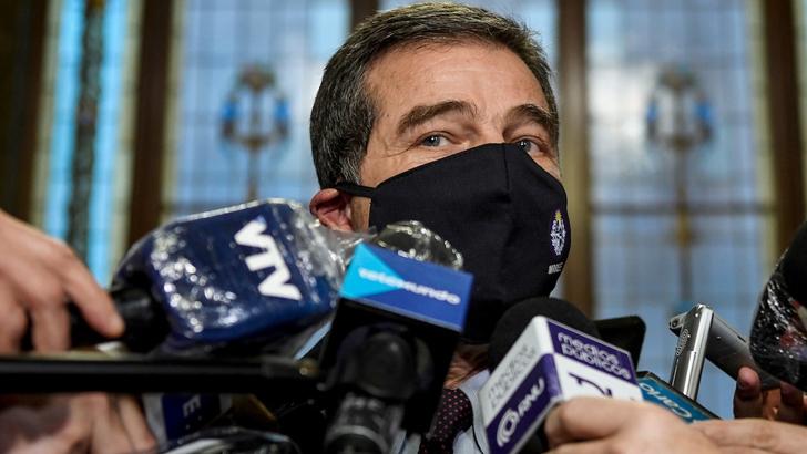 """Talvi sostuvo que su salida del Ministerio de Relaciones Exteriores """"no tiene plazos"""""""