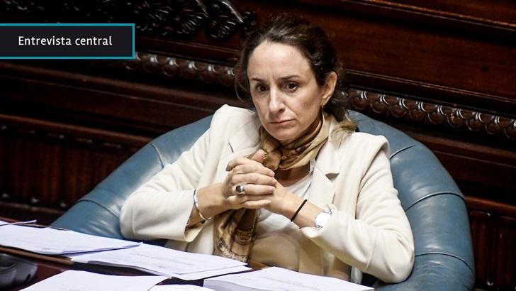 """Carmen Sanguinetti (PC) tras media sanción de proyecto de ley de teletrabajo: """"La gran innovación"""" es que """"la persona podrá administrar su tiempo"""" porque """"flexibilidad y teletrabajo van de la mano"""""""