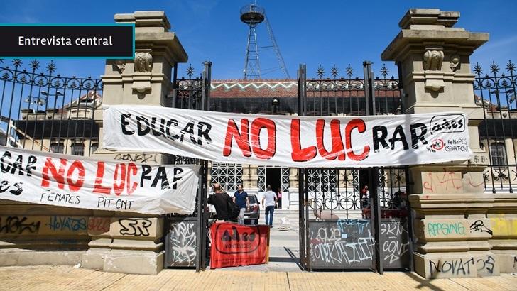 """Abogado de Fenapes ante resolución de Inddhh sobre cartelería en centros educativos: La Constitución """"consagra el derecho a ejercer proselitismo sindical dentro de las reparticiones públicas"""""""