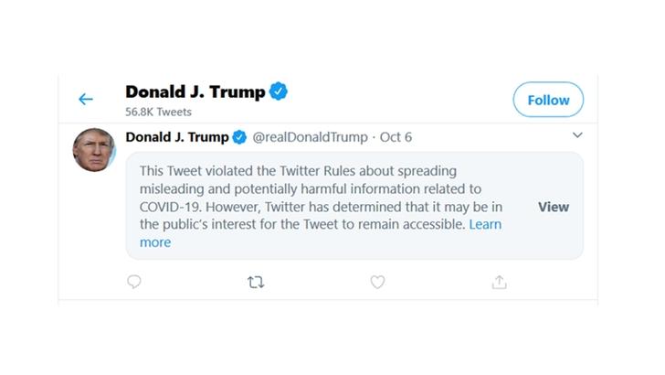 """Redes sociales ocultan mensajes con noticias falsas para prevenir """"manipulación"""" en elecciones"""