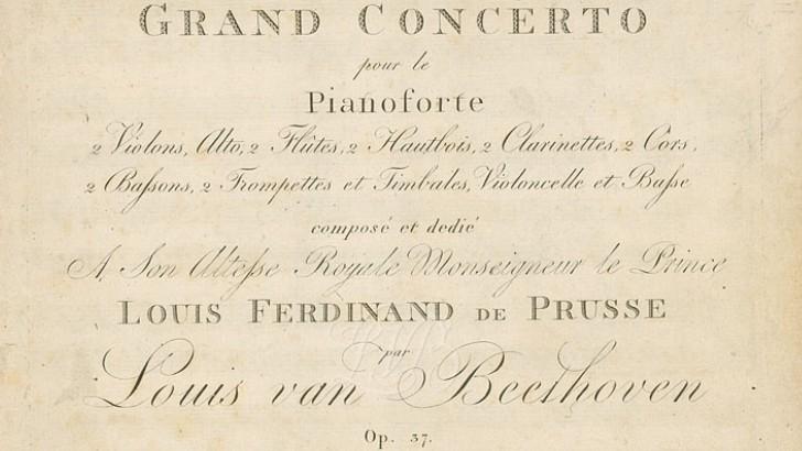 El Concierto para piano n. 3 de Beethoven con la maestra Raquel Boldorini