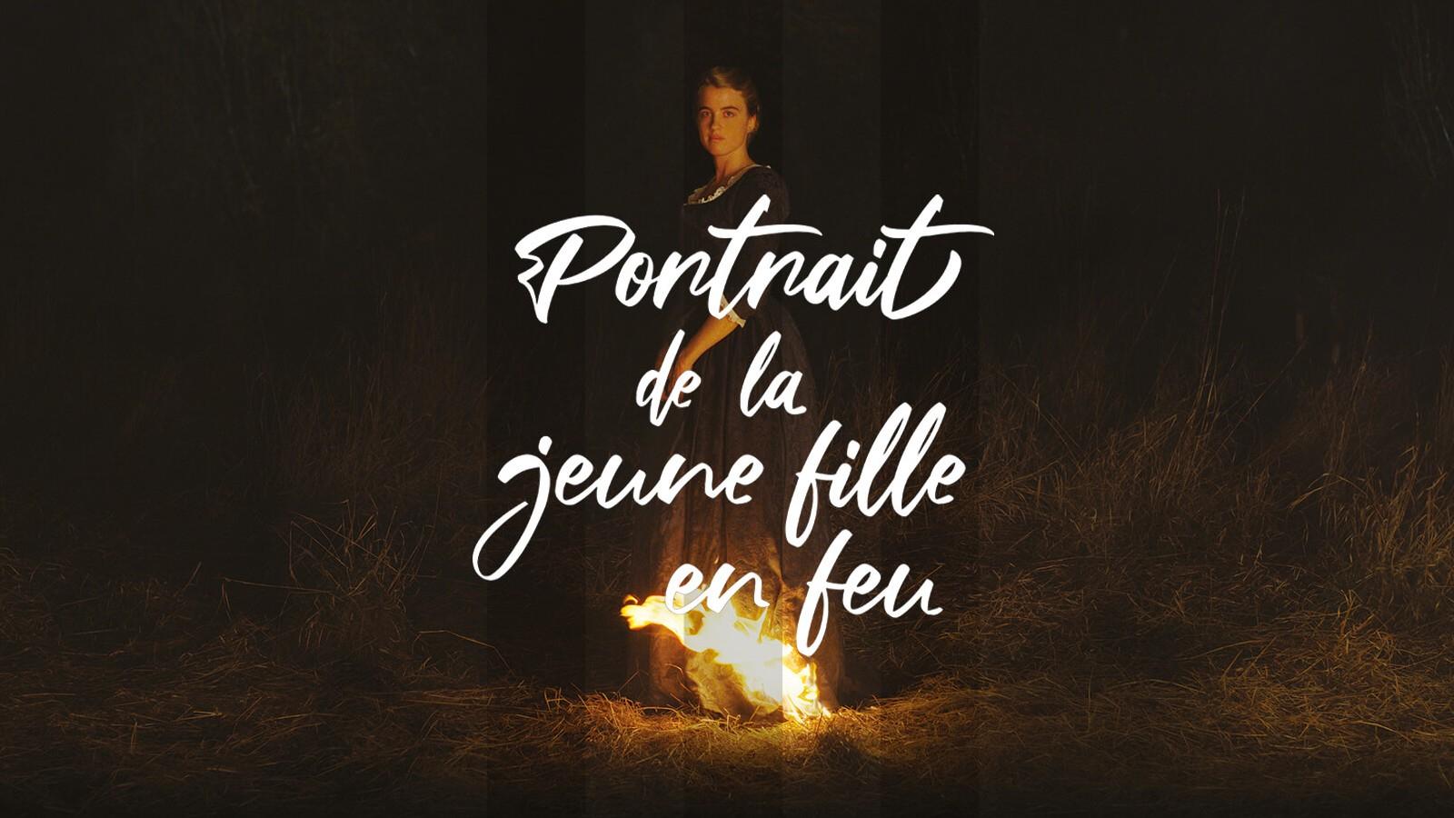 De archivo: Retrato de una mujer en llamas