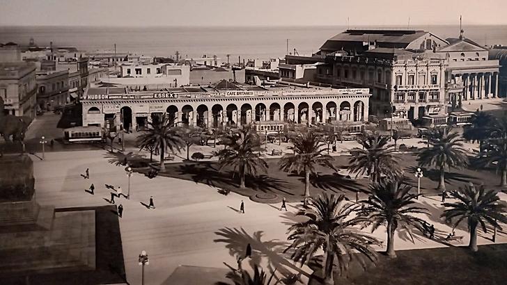 Los ojos de la radio: ¿Cómo era la plaza Independencia un siglo atrás?