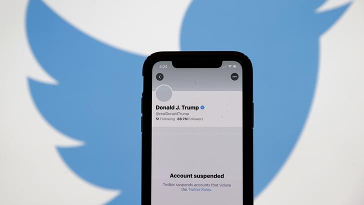 Twitter suspendió permanentemente la cuenta del presidente de EEUU, Donald Trump