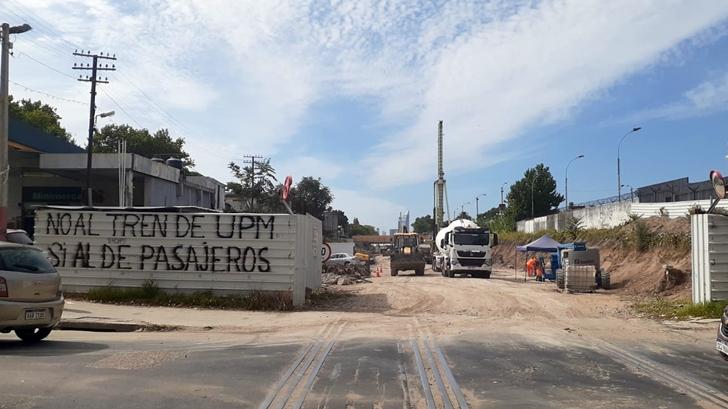 Los ojos de la radio: ¿Cómo avanzan las obras del Ferrocarril Central en Capurro?