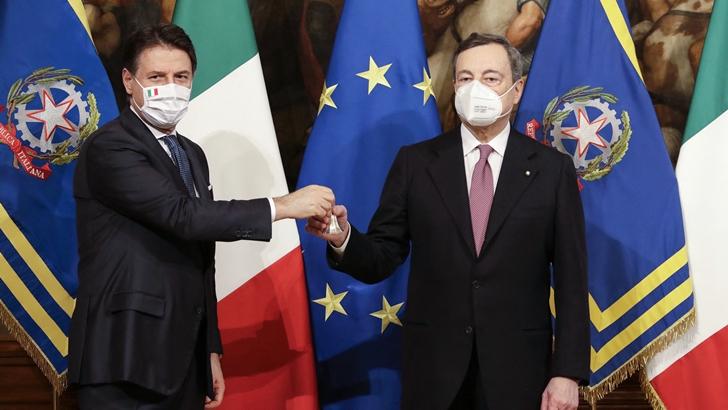 Italia: Mario Draghi asume como primer ministro tras crisis política