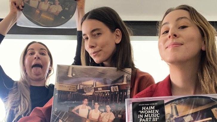 Las hermanas HAIM conquistan la escena del pop-rock