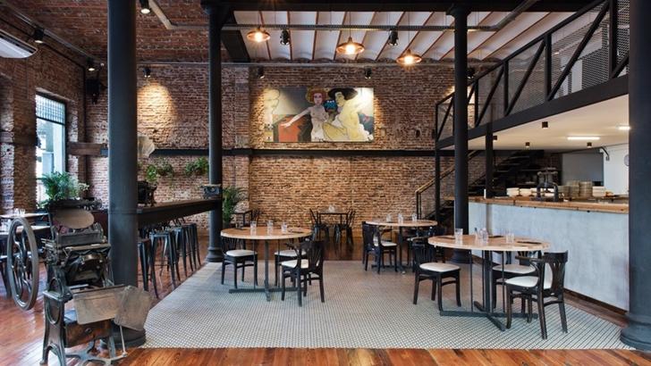 Degustamos en el majestuoso restaurante La Imprenta (El Degustador itinerante)