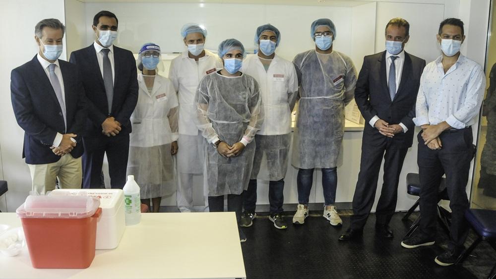 Antel al servicio de la campaña de vacunación contra el Covid-19