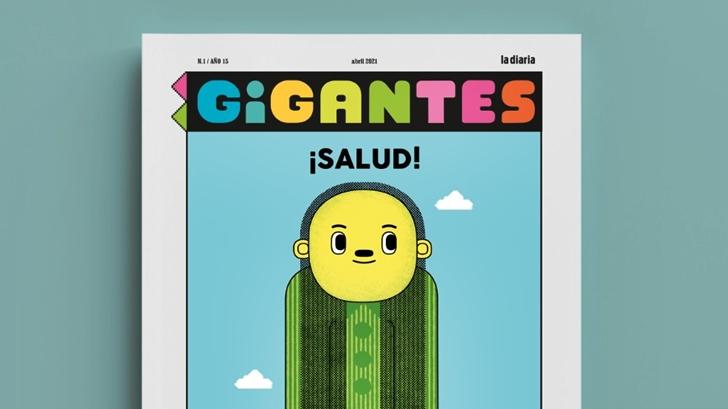 Conocimos Gigantes: Una publicación impresa de la diaria para niños, niñas y adolescentes