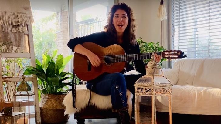 Rossana Taddei el mambo de ser una cantante de aquí y de allá