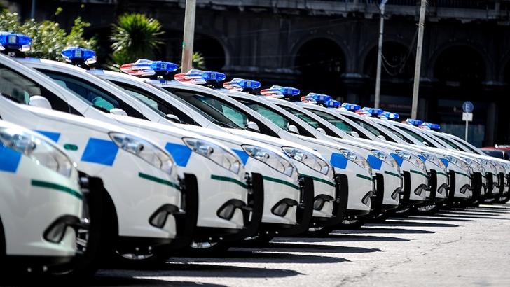 Policías homenajearon al ex ministro del Interior Jorge Larrañaga