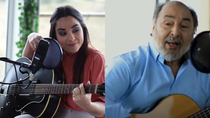 Melaní Luraschi y Eduardo Larbanois elogian al viento con su música