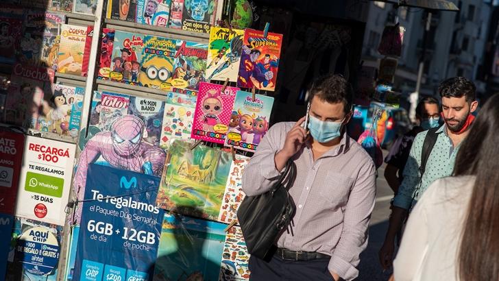 Cae la evaluación de la gestión de la pandemia por el gobierno de Lacalle Pou