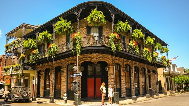 Tripulacción. Ciudades emblemáticas: Nueva Orleans