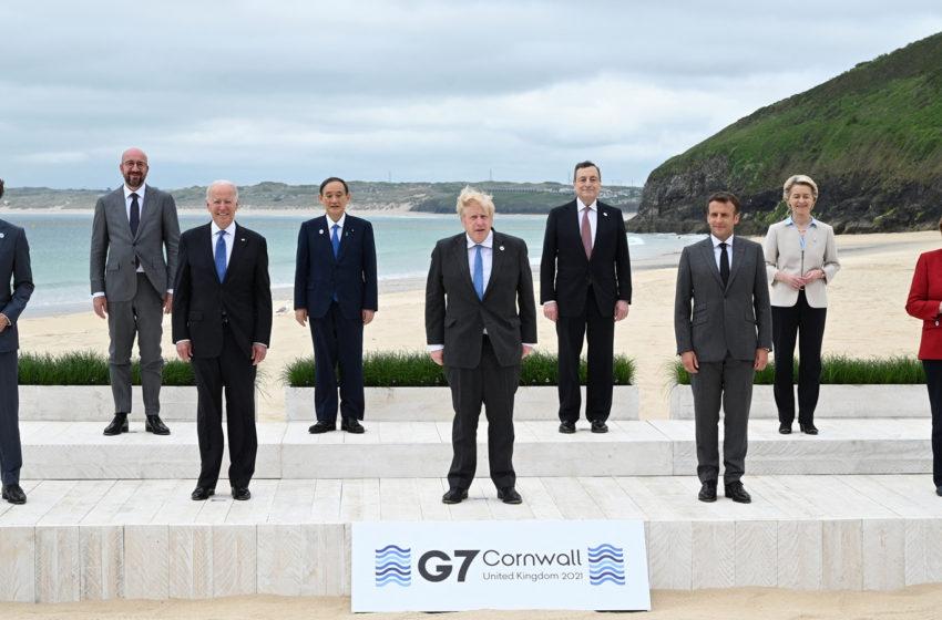¿Qué dejó la reunión del G7 en Cornwall, Inglaterra?