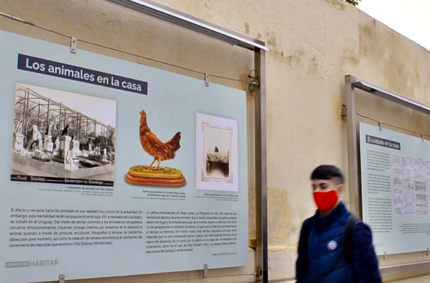 Los ojos de la radio: Exposición a cielo abierto del Museo Histórico Nacional en la Casa Rivera
