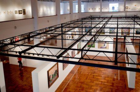 MUSEO NACIONAL DE ARTES VISUALES, MNAV. Montevideo, 20/12/2014. URUGUAY/MONTEVIDEO/  Foto: Ricardo Antúnez / adhocFotos día: sabado adhocFOTOS