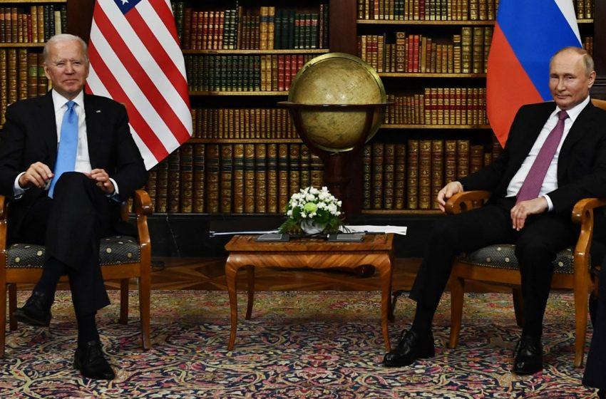 Biden y Putin tuvieron su primer encuentro mano a mano
