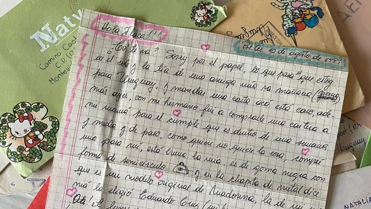 Buenos Aires, 10 de agosto de 1989. Carta recibida por Natalia Mardero