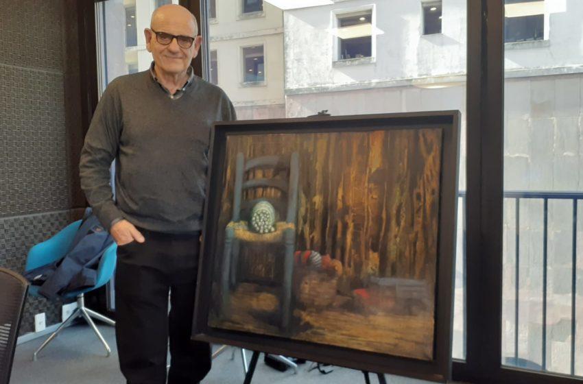La Conversación: Con el artista uruguayo que expone esta semana en el estudio, Miguel Porley