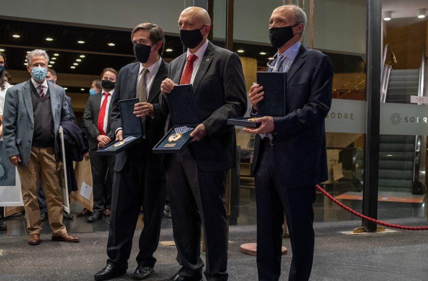 Poder Ejecutivo homenajeó al Grupo Asesor Científico Honorario (GACH)