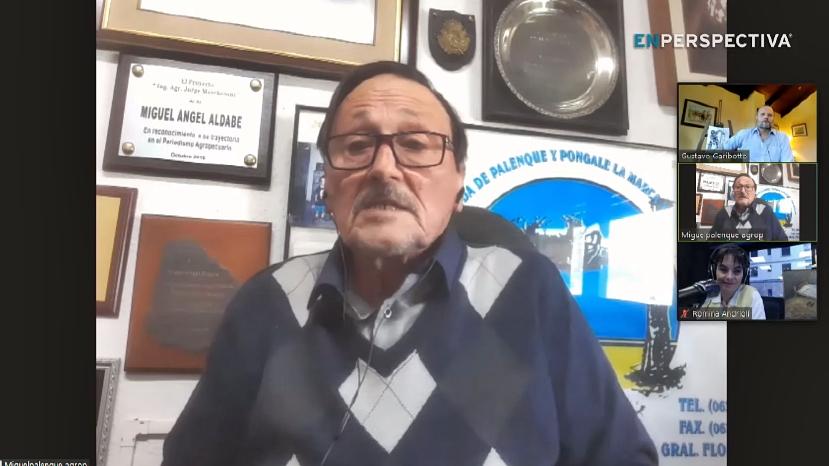 Conexión Interior: Conocimos a Miguel Ángel Aldabe, conductor del clásico programa radial «Palenque Agropecuario»