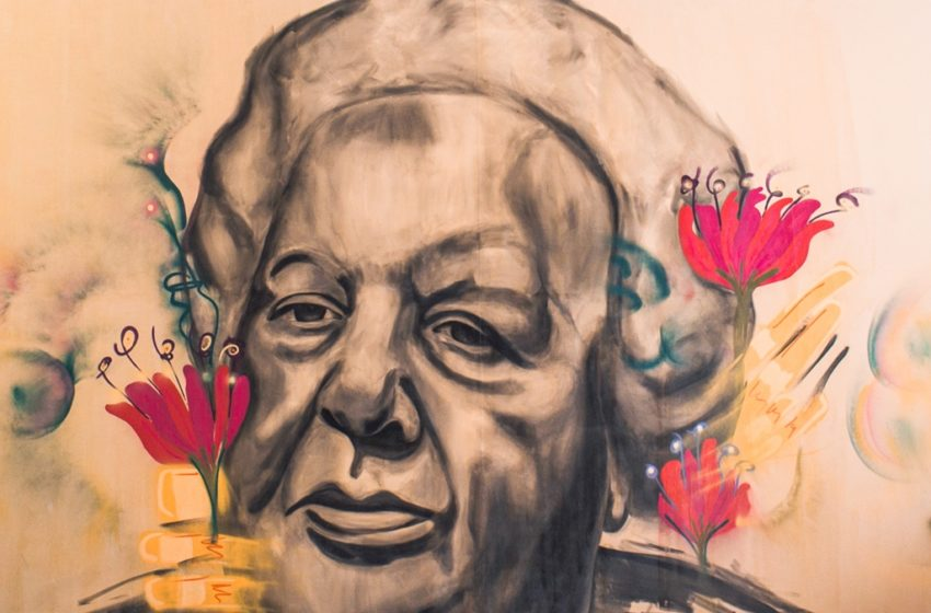 Los Ojos de la Radio: El Sodre inauguró un mural que rinde homenaje a Adela Reta