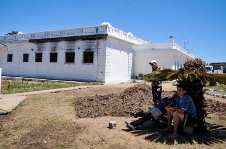 20101223/ Javier Calvelo/ URUGUAY/ ROCHA/ Visita a la jefatura y a la Carcel de Rocha en el marco de ver en que situacion esta hoy la carcel luego del incendio que provoco la muerte de 12 reclusos en el invierno pasado (8 de JUlio de 2010). En la foto: Carcel de Rocha en diciembre de 2010. Foto: Javier Calvelo / adhocFOTOS