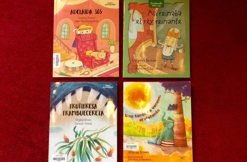 La Conversación: Con Virginia Brown, multipremiada autora de clásicos infantiles como «Así reinaba el rey reinante»